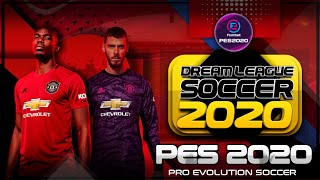 Saiu!! Dream League Soccer 2020 - MOD DLS 19 - Estilo eFootball PES 20 - Menu Incrível!!