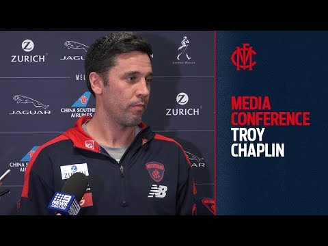 Troy Chaplin | Media Conference