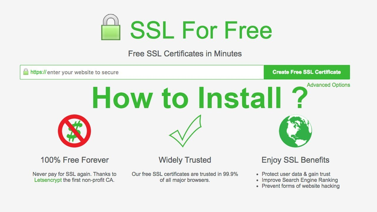 How To Install Free Ssl Lets Encrypt On Cpanel X Hosting Youtube