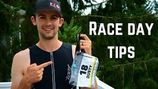 Triathlon Race Day Tips | Race Belt and Race Number