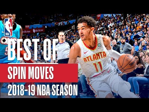 NBA's Best Spin Moves | 2018-19 NBA Season | #NBAHandlesWeek