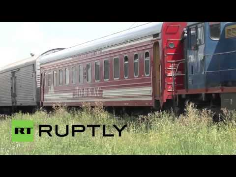 Ukraine  Bodies of MH17 victims arrive in Kharkov