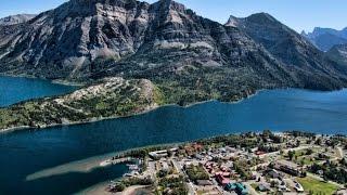 #1 Waterton Lakes, Grizzly & Black bear encounters, waterfalls, deer, breathtaking scenery