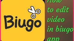 Biugo app | How to edit video in biugo app | how to make this biugo app | how to use biugo | hindi