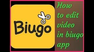 Biugo app | How to edit video in biugo app | how to make this biugo app | how to use biugo | hindi screenshot 1