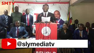 Chamisa said people who demonstarted are 'stupid' and died on the 1st Augustt