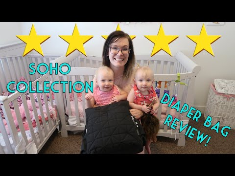 SOHO Collection Kenneth Backpack Diaper Bag REVIEW