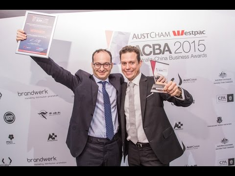 AusBizAsia - SmartBuyGlasses Optical Group wins Business Excellence Award at The ACBA's 2015
