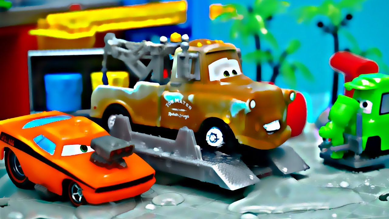 Disney Cars Youtube: Disney Pixar Cars Color Changers