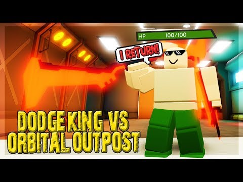 HOW TO TAKE NO DAMAGE IN ORBITAL OUTPOST DUNGEON QUEST ROBLOX