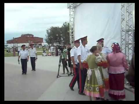 В Тобольске состоялся II казачий фестиваль «Наследники Ермака»