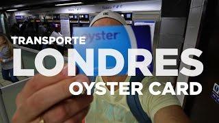 Tarjeta metro de Londres. Oyster Card
