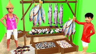 लालची मछलीवाला Kahaniya | Hindi Moral Stories  | Cartoon Fairy Tales | Bedtime Stories