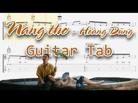 Nàng Thơ (Hoàng Dũng) - Guitar Tab