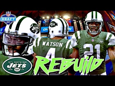 Madden 17 NY Jets Franchise The Rebuild | THE 2017 NFL DRAFT!!! Including All New Draft Picks