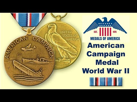 Your Dad Or Grandfather's Missing WW 2 American Campaign Medal