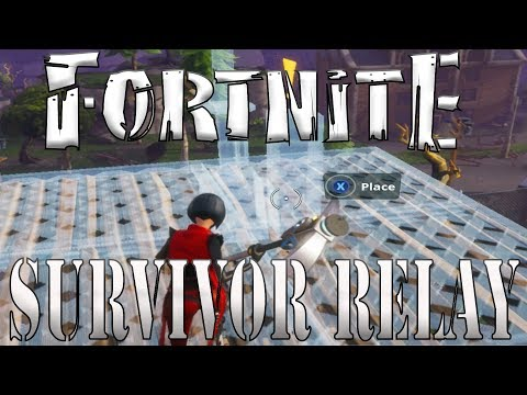 Fortnite - Survivor Relay Missions - Where And What To Look For!