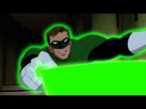 'Justice League: Doom' Clip - Green Lantern vs Ten of The Royal Flush Gang