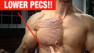 Lower Pec Punishing Exercise (NO MORE SAGGY CHEST!)
