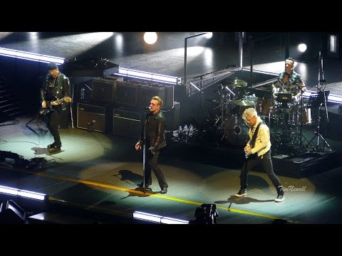 "U2 / 4K / ""Gloria"" (Live) / United Center, Chicago / June 28th, 2015"