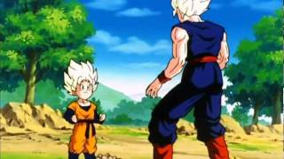 Dragon Ball Z- Goten goes Super Saiyan for the First Time! [HD]