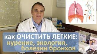 Как очистить легкие: астма, бронхит, ХОБЛ, простуды, курение, плохая экология. Часть 1.