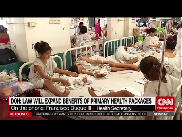 Duterte: Healthcare law makes services affordable, accessible
