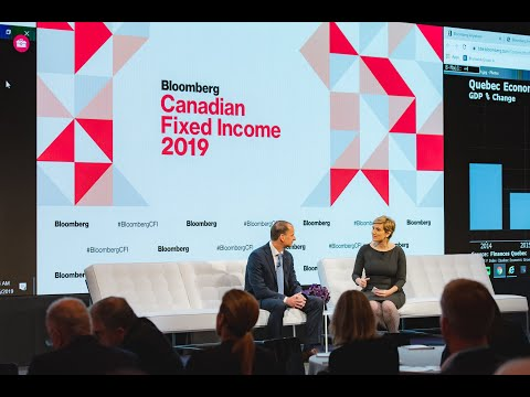 Quebec's Minister of Finance on the Economy and Financing   Canadian Fixed Income