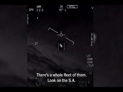 "Navy Claims Videos Are ""Unidentified Aerial Phenomena"""