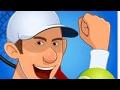Stick tennis 🎾 gameplay