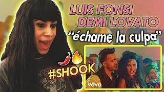 Video Luis Fonsi, Demi Lovato - Échame la Culpa | Reaction download MP3, 3GP, MP4, WEBM, AVI, FLV Oktober 2018
