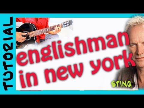 como tocar ENGLISHMAN IN NEW YORK en guitarra acustica