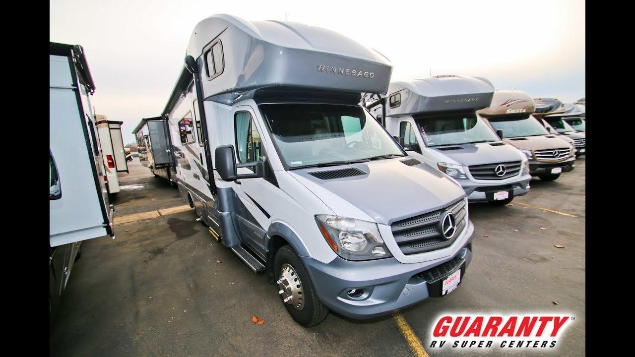 2018 Winnebago Navion 24 D Class C Diesel Motorhome Video Tour •  Guaranty com