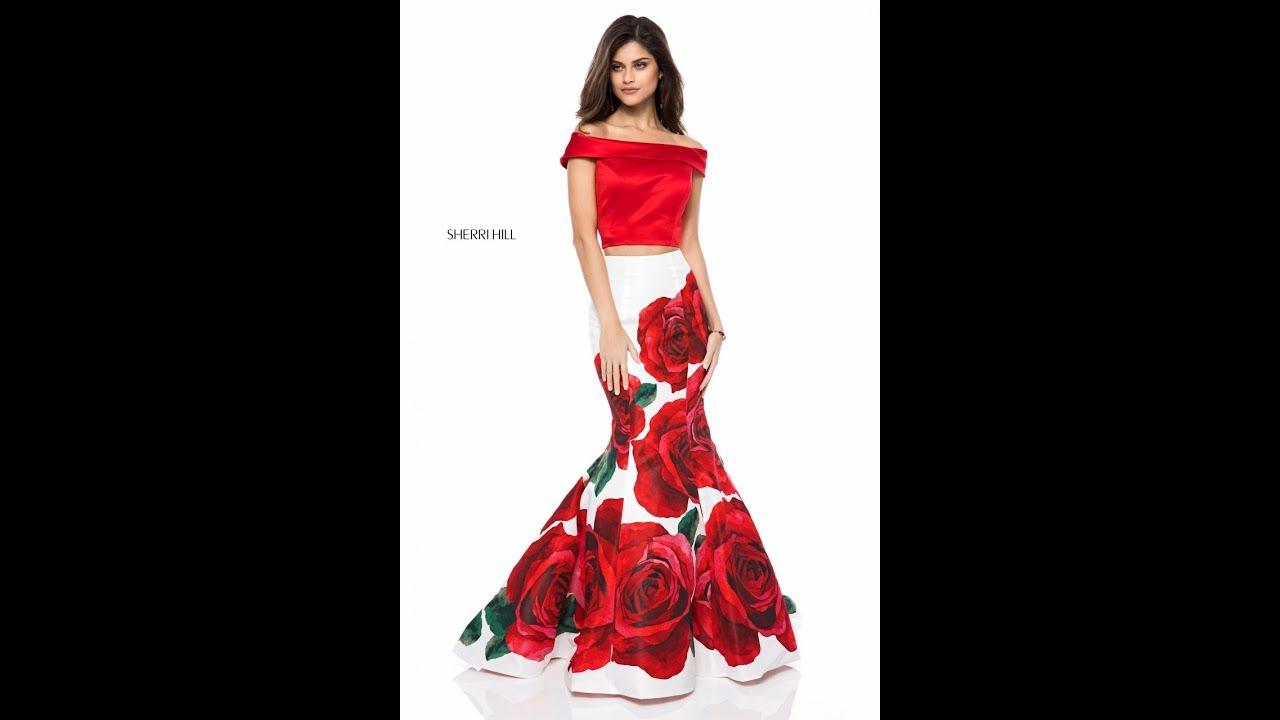 1ccbec6f1ab Sherri Hill 51850 Prom Dress - YouTube