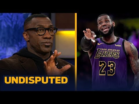 Skip and Shannon disagree on LeBron James calling himself the GOAT   NBA   UNDISPUTED