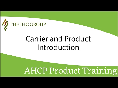 The IHC Group Carrier and Product Introduction