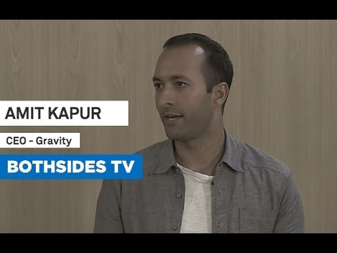 Bothsides TV Episode 1 with Amit Kapur, CEO of Gravity