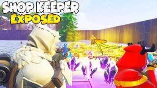 Shop Keeper 2.0 Scammed Me EXPOSED 😱 (Scammer Gets Scammed) Save The World