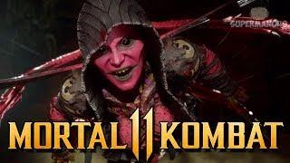 """D'vorah Makes Him Rage Quit Kombat League - Mortal Kombat 11: """"D'vorah"""" Gameplay"""