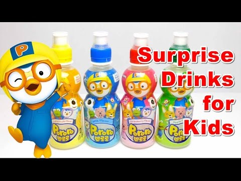 Drinks with Surprise Toys & Fun Video Compilation