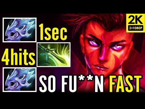 2x Moon Shard + Butterfly MAX SPEED Pro Carry AntiMage by Arise Dota 2