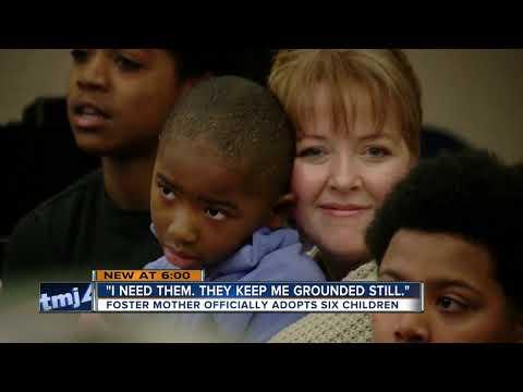 Karla Cantrell - Single Mom adopts 6 siblings