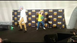 Rick and Morty Cosplay- Get Schwifty- MCM-BHM-19/11/2016