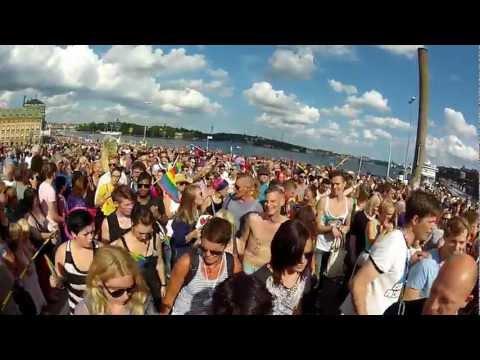 Stockholm Pride 2012 Slussen