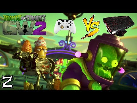 Jugando con MANDO en PC - Plants vs Zombies Garden Warfare 2