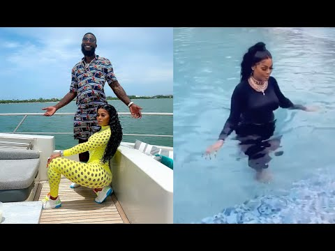 Gucci Mane Dares Wife Keyshia Kaoir Get In Pool With All Her Clothes On