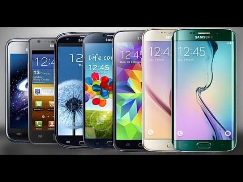 6 years of Samsung Galaxy S series (2010-2016)