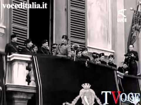 Discorso del Duce Benito Mussolini, Imola, 25 ottobre 1936