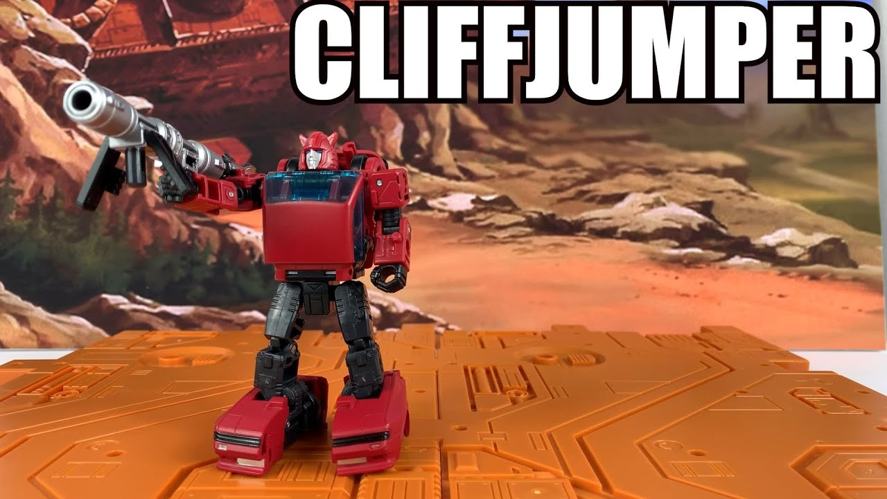 Transformers Earthrise Cliffjumper Unboxing and Review by  Enewtabie