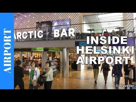 Helsinki Airport in Finland HEL - Inside Helsinki Vantaa Airport
